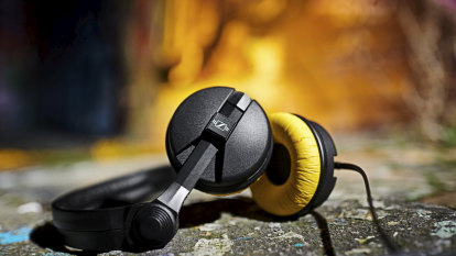 Historic headphones as audio pioneer Sennheiser turns 75