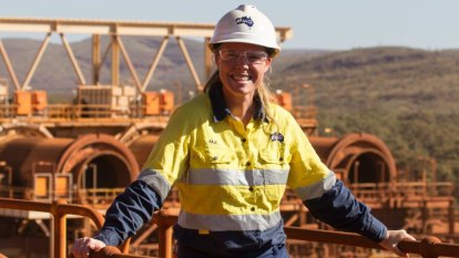 The woman who has dived into the top ranks of the mining industry