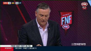 Apology: Eddie McGuire has again been under fire for on-air comments.