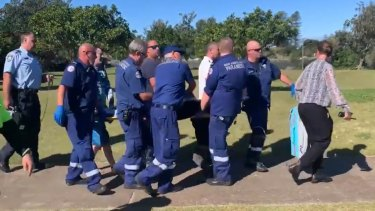 Paramedics were unable to resuscitate the man.