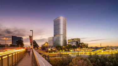 Developed by Macky Corp, Liverpool Quarter willfeature a 23-storey curved tower.