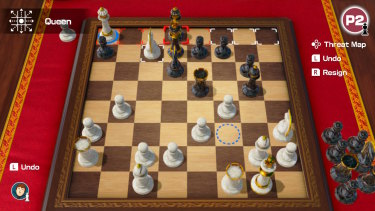 The simplest Chess assist lets you see where your pieces can move, and where they'll be in danger.