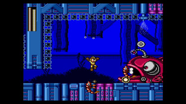 Mega Man 1–3 originally appeared on the Nintendo Entertainment System. The Sega versions feature updated graphics and sound.