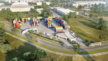 Sidelink Transport has committed to a seven-year pre-lease.