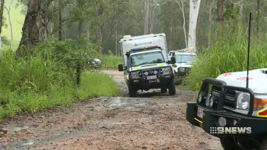 Emergency services in the dense far north Queensland bushland where a Townsville pilot died last Sunday.