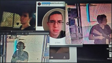 Images of Patrick Crusius, who has been identified as the El Paso mass shooter.