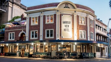 The Harbour View Hotel, in Sydney's Rocks, has sold for $12 million.