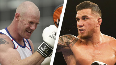 Sonny Bill Williams and Barry Hall are set to square off.