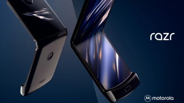 Motorola has revived the Razr as $2200 foldable smartphone.