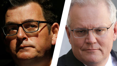 Daniel Andrews and Scott Morrison.