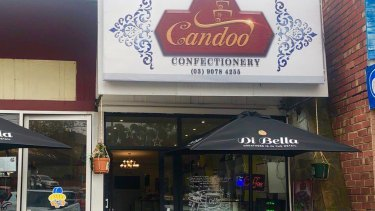 Candoo Confectionery in Box Hill.