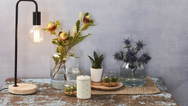 Products in Coles' new homewares range.