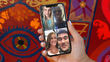 Houseparty is an app which allows you to video chat and play games with your friends.