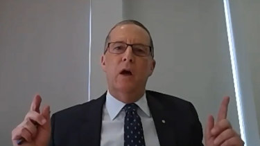 Department of Premier and Cabinet secretary Chris Eccles.