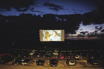 The Dromana Drive-in, pictured, Dandenong's Lunar, and Village's Coburg's Drive-in will re-open next Thursday.