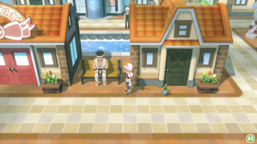 Old-school players will recognise bits of Kanto, but it's all been given a stunning overhaul.