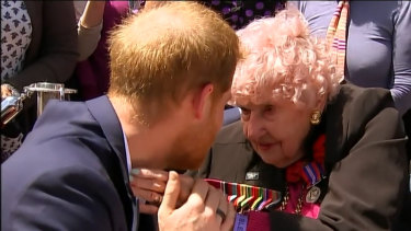 One of Prince Harry's biggest fans Daphne Dunne passes away at 99.
