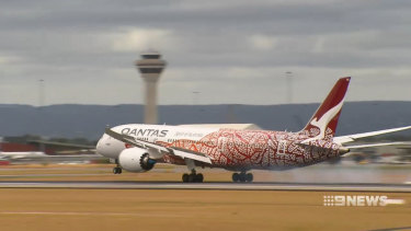 Qantas is boasting a boost to West Australian tourism after its first year of non-stop flights between Perth and London, but says a dispute is affecting more direct services.