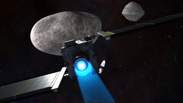 DART on a collision course with Didymoon.