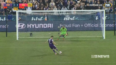 Perth Glory made it to the A-League grand final after a thrilling semi-final.