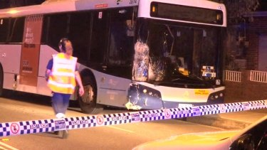 A bus driver has been charged over a crash that left two men dead in Kingsgrove on Monday night.