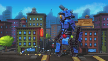 This is just the tutorial bot. They get much bigger.