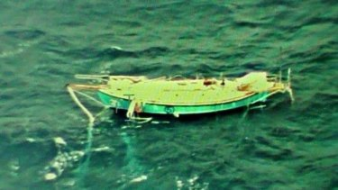 Abhilash Tomy's yacht