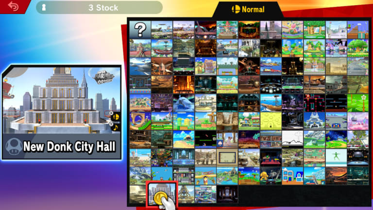 Stages run the gamut from retro fare like Duck Hunt to more contemporary locations like a track from Mario Kart 8, but also include settings from old games reimagined into HD.