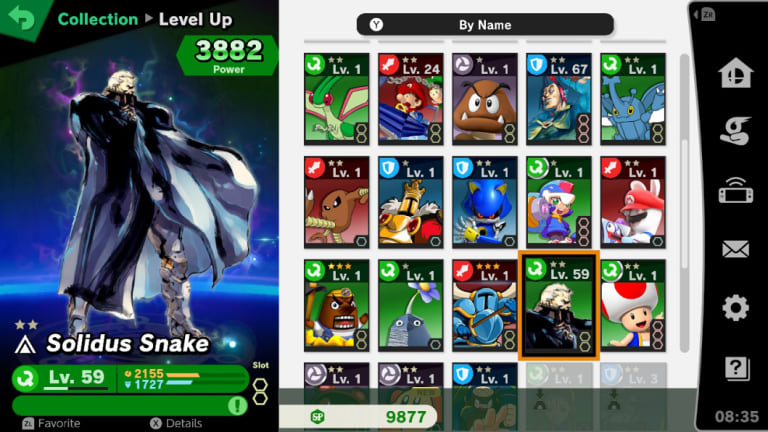 Spirits offer a very deep collecting game in the style of popular 'gacha' smartphone apps, and you can even get special spirits by scanning random amiibo, but using them in battle takes away from the pure fun of the game.