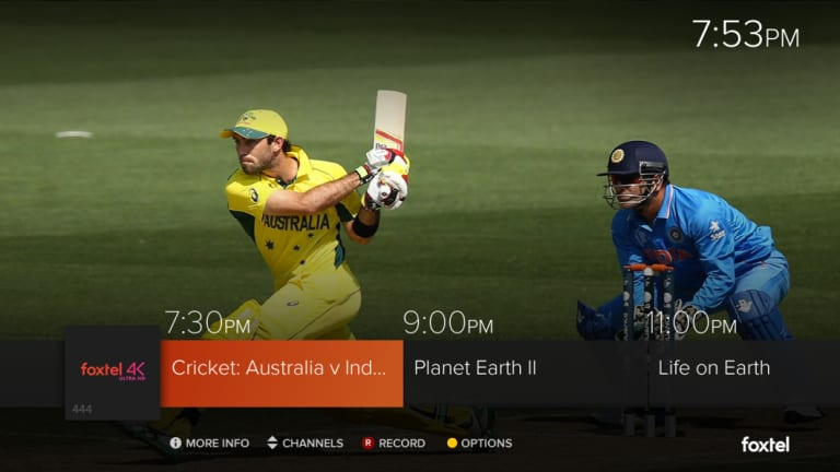 Foxtel's new 4K channel will show a sampling of Ultra HD content at launch.