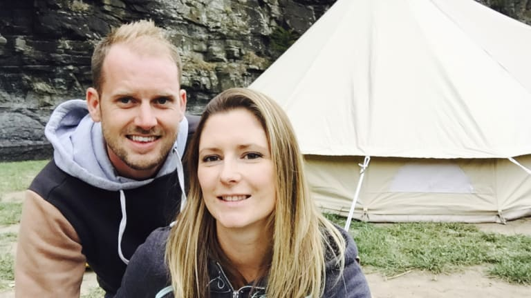 Founders of Twilight Glamping, Beth and Lee Brown, have used word of mouth and community connections to grow their business.