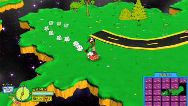 ToeJam has a shirt now! But don't worry, you can play as the old-school ToeJam and Earl as well.