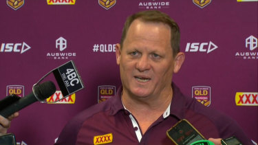 Kevin Walters declared war on NSW in his press conference to announce the Queensland side for Game 1.