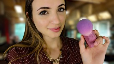 Gibi's ASMR YouTube channel pays enough for her to treat making content as a full-time job.