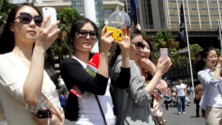 Under the deal, tourists can use a QR code to pay in-store at 110 of Vodafone's retail stores across the country.