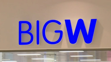 Woolworths is closing 30 Big W stores.