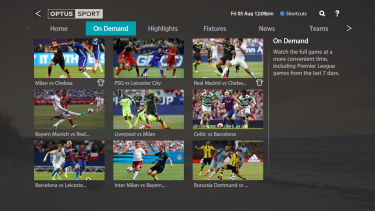 Fetch TV's Optus Sport app offers every EPL match live this season.