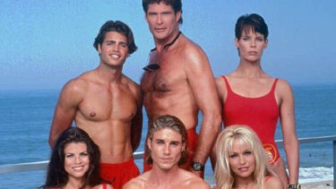 The cast of lifeguards from Baywatch never made it to Avalon.