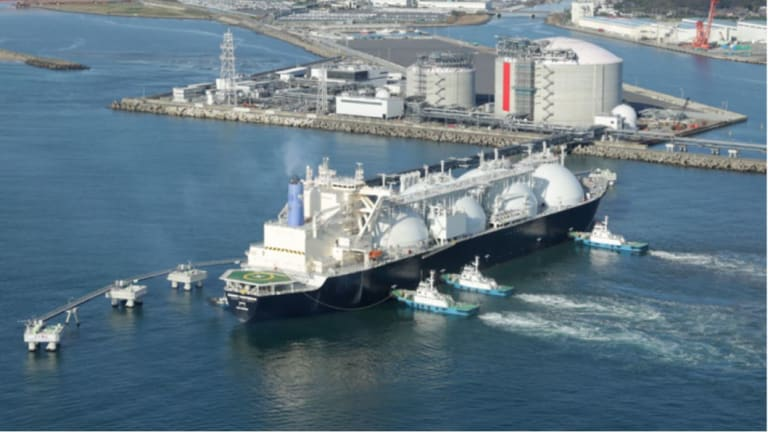 LNG imports have been proposed as a solution to Australia's forecast domestic gas shortages.