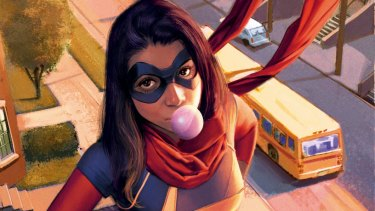 Kamala Khan, the Pakistani-American and Muslim teenager who is Ms Marvel.