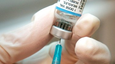 An unvaccinated child was one of two people recently diagnosed in Sydney with measles.