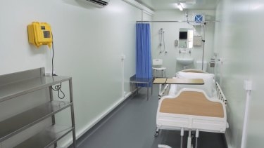 A Brisbane-based asset engineering management company has made 10 portable hospital rooms.