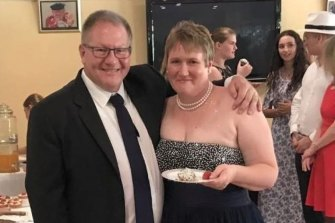 Gavin Dallow was killed in the eruption and his wife, Lisa Hosking, is recovering in hospital.