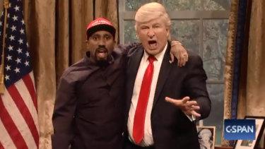 Alec Baldwin's Trump returned to SNL.