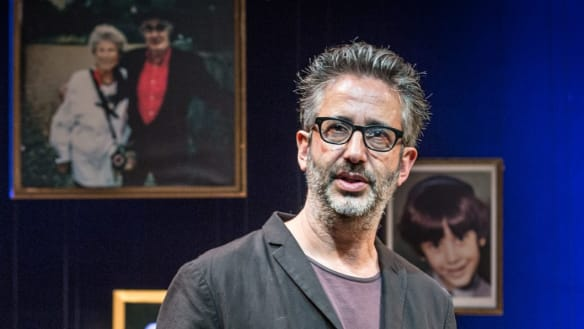 David Baddiel finds laughter in home truths