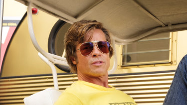 """Brad Pitt in Quentin Tarantino's """"Once Upon a Time in Hollywood."""""""