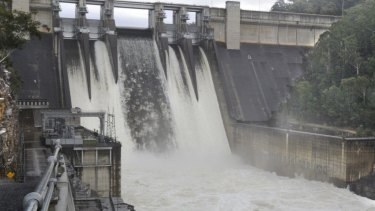 A significant spill at Warragamba Dam is not off the cards.