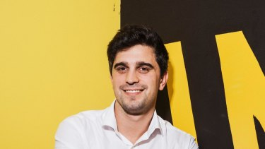 Afterpay co-founder Nicholas Molnar, who will appear before a Senate inquiry with co-founder Anthony Eisen next week.