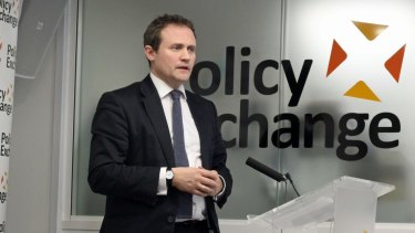The chair of the British parliament's foreign affairs committee Tom Tugendhat.