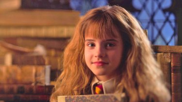 A young Hermione Granger, a popular Book Week choice.